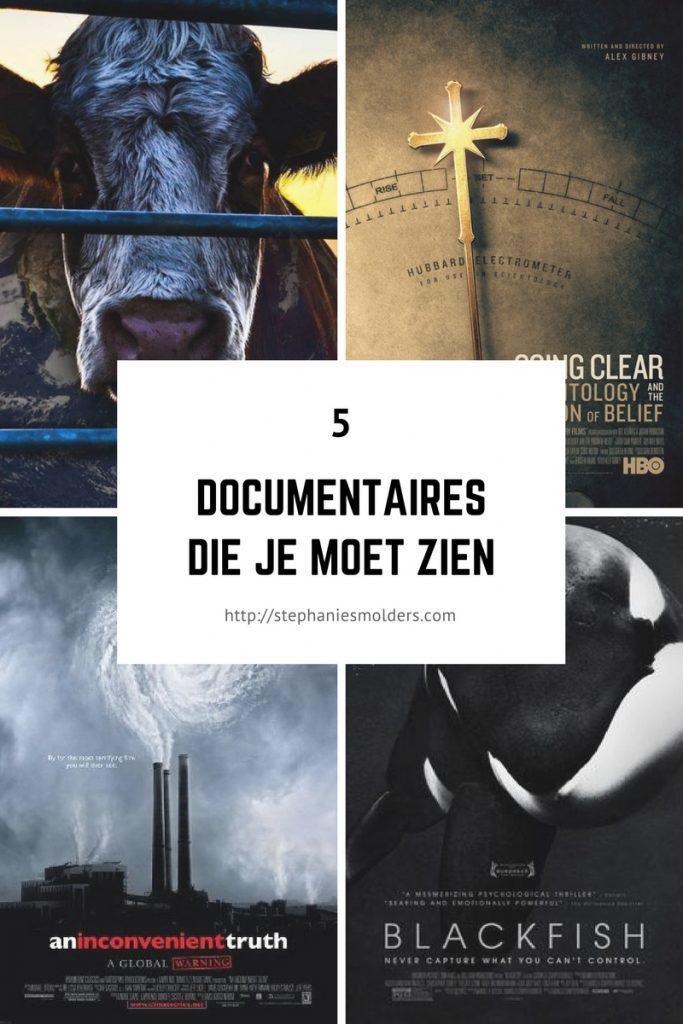 documentaires die je moet zien
