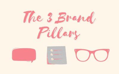 The 3 Pillars of Great Branding