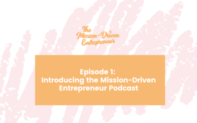 Podcast #001: Introducing the Mission-Driven Entrepreneur Podcast