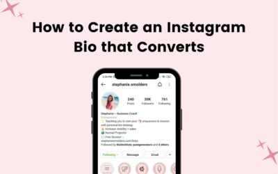 How to Create an Instagram Bio that Converts